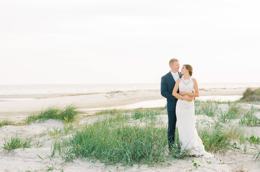 John & Emily's Ocean Course wedding on Kiawah Island  //  photographed by Aaron and Jillian Photography