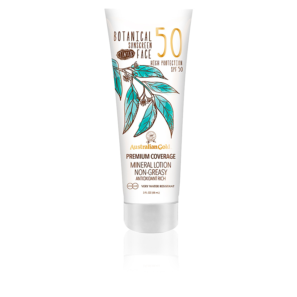 Wedding Beauty Products - Australian Gold Botanicals Tinted Face Lotion