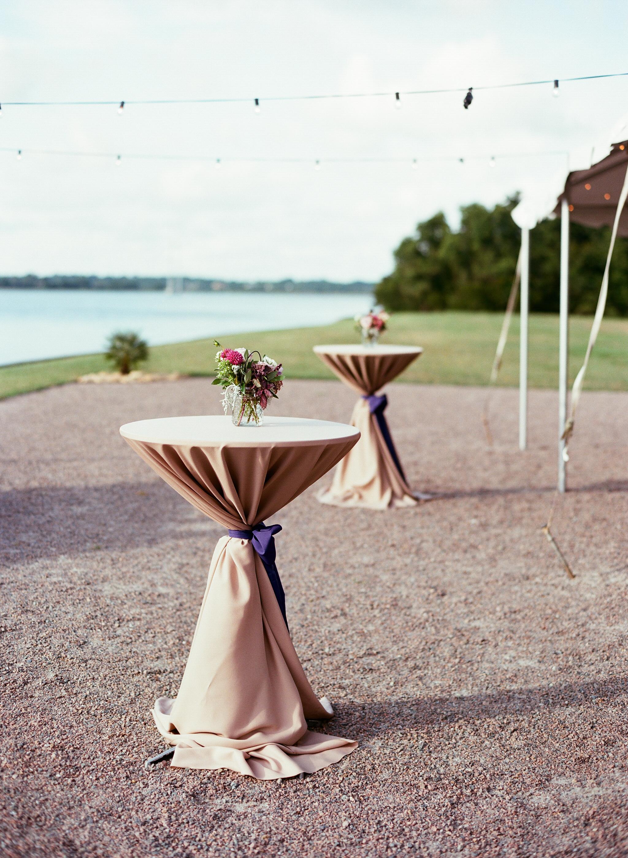 Outdoor wedding ceremony at The Island House on Johns Island SC  //  Charleston wedding photos by Lauren Jonas Photography