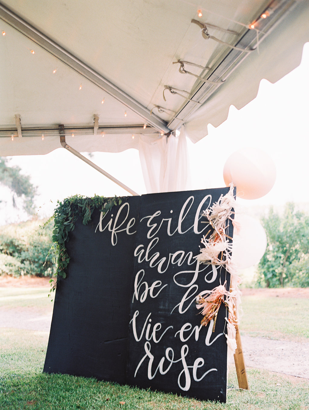 Custom photo booth wall by J. Lily Design at Oldfield Club wedding  Craft beer station at Oldfield Club wedding  //  HIlton Head photographs by Landon Jacobs  //  A Lowcountry Wedding Magazine