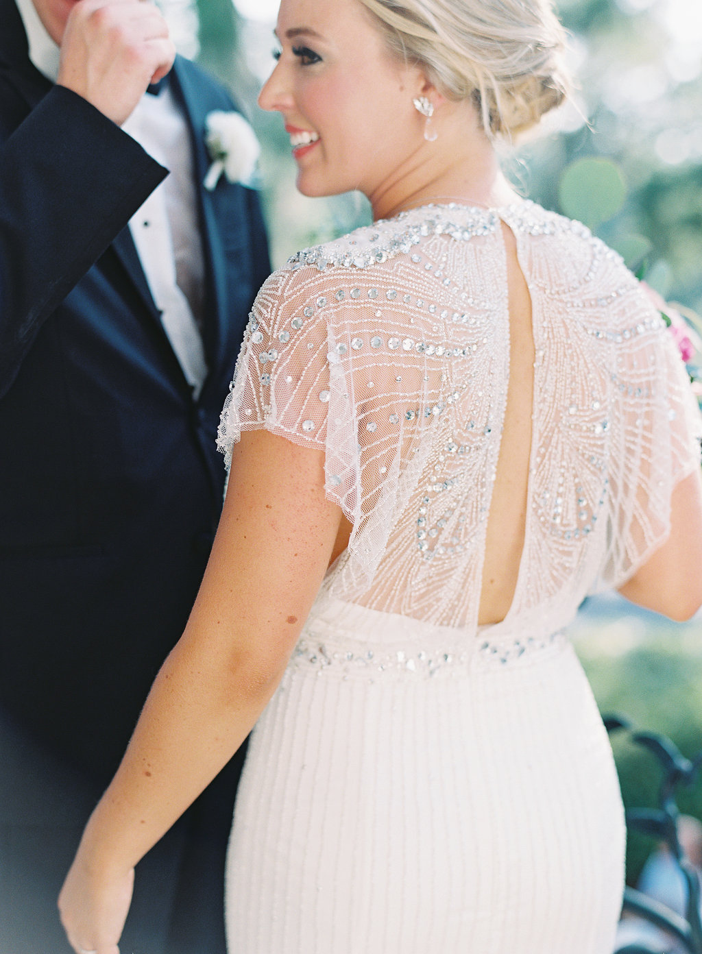 Jenny Packham gown at Hilton Head SC wedding at Oldfield Club  //  A Lowcountry Wedding Magazine