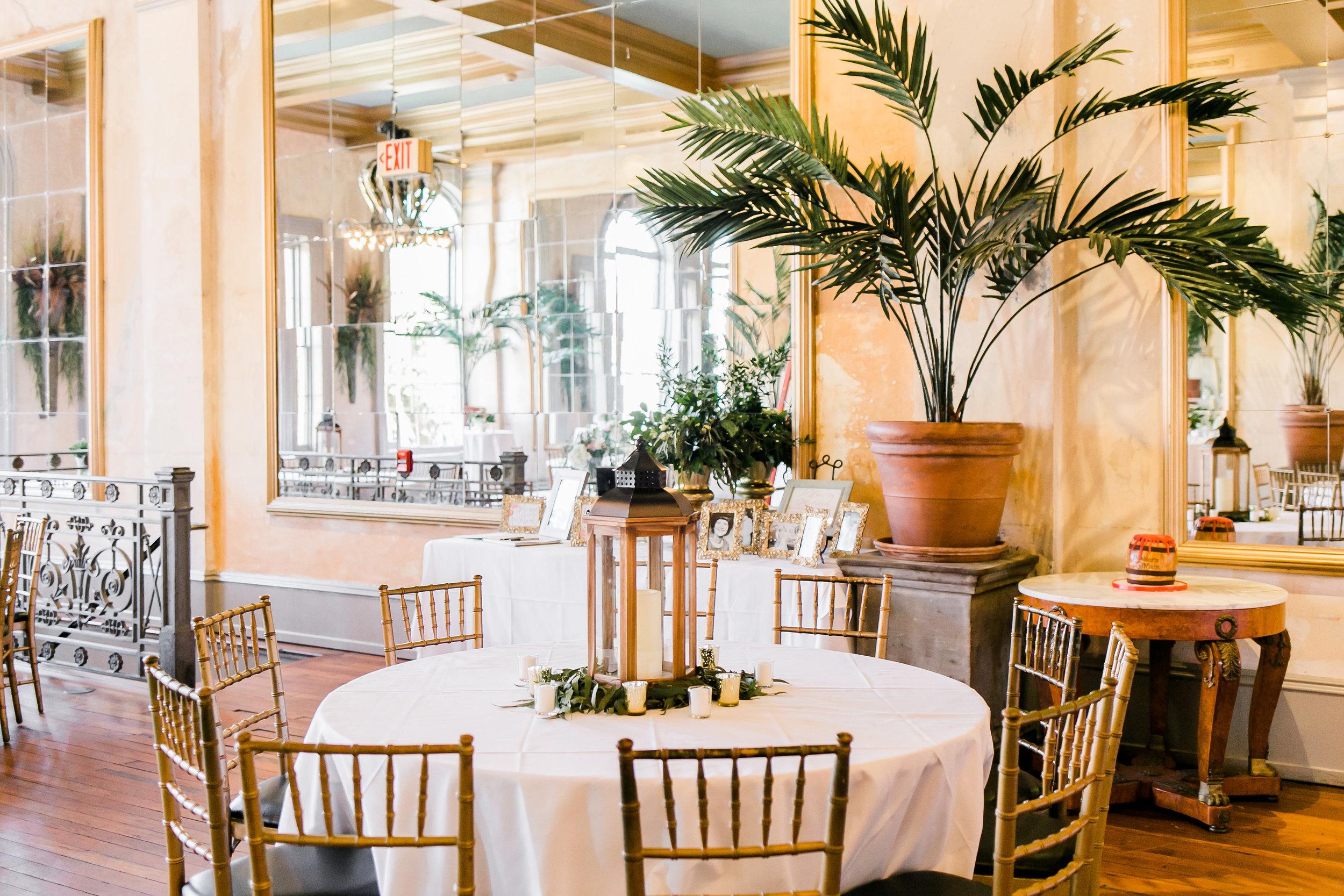 Garibaldi's Cafe wedding reception in Savannah GA by Jb Marie Photography