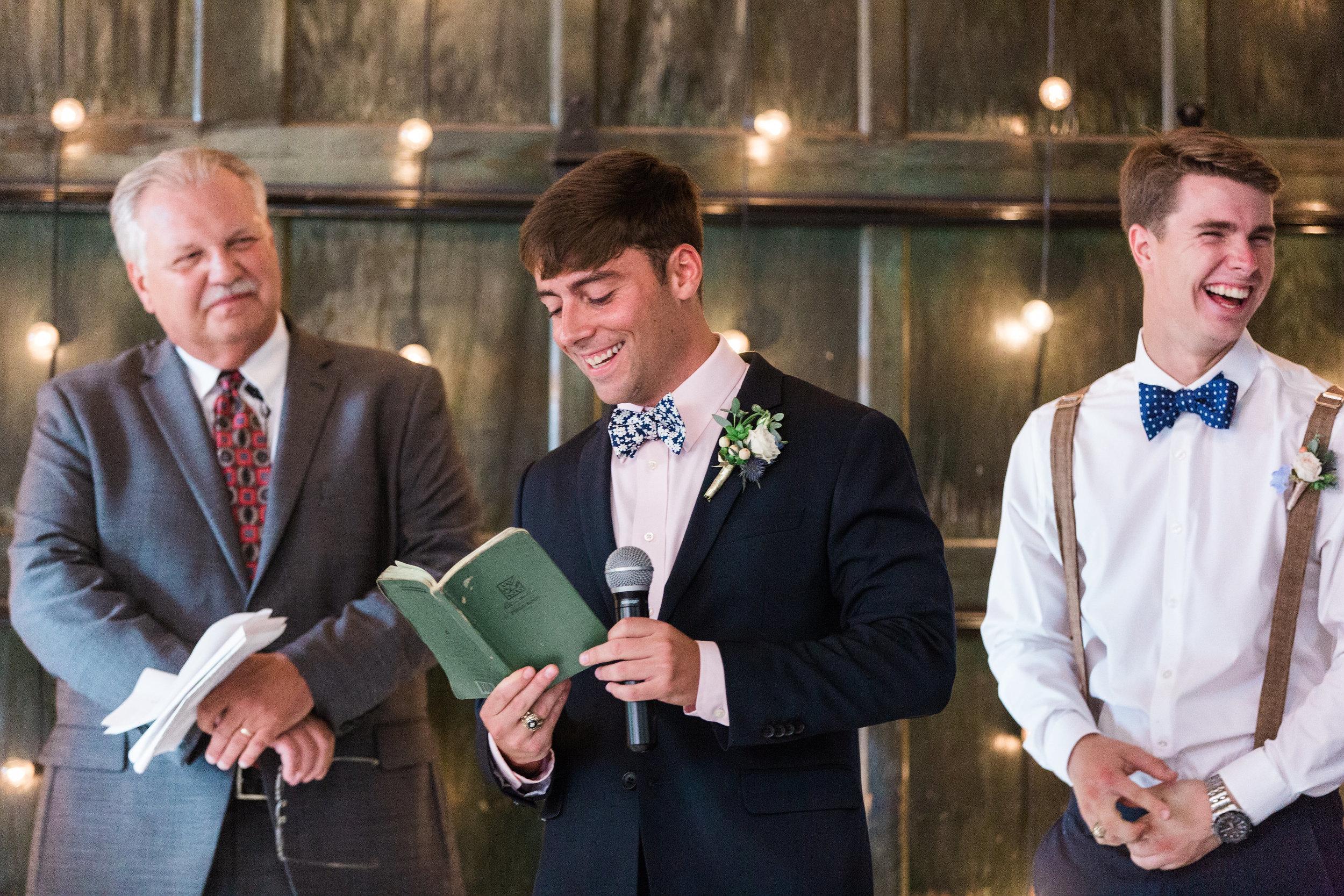Savannah wedding ceremony at Soho South Cafe by Apt B Photography  //  A Lowcountry Wedding Magazine