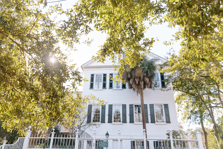Governor Thomas Bennett House  //  Charleston wedding photos by Riverland Studios  //  A Lowcountry Wedding Magazine & Blog