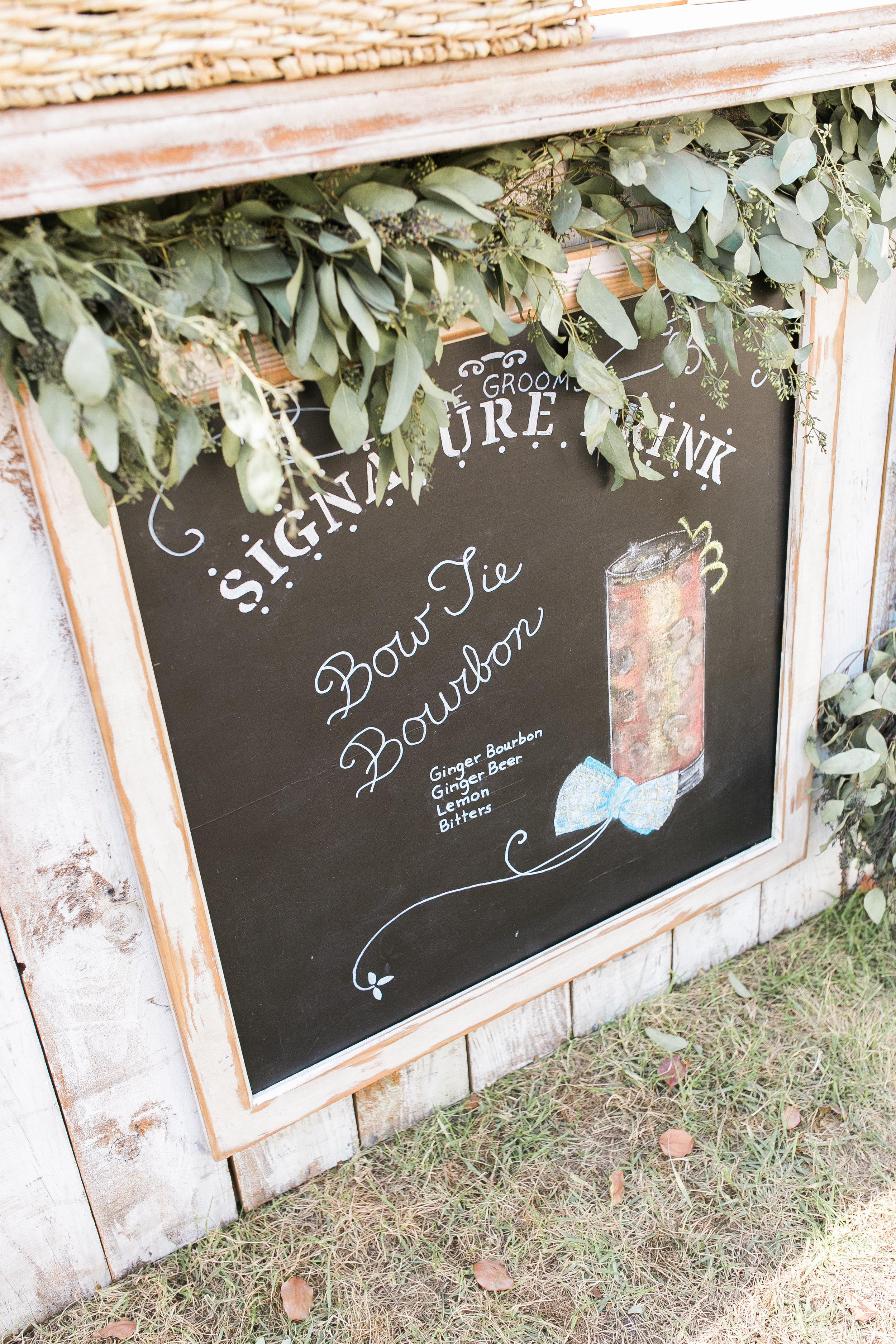 Custom bar at Thomas Bennett House wedding reception //  A Lowcountry Wedding Magazine & Blog