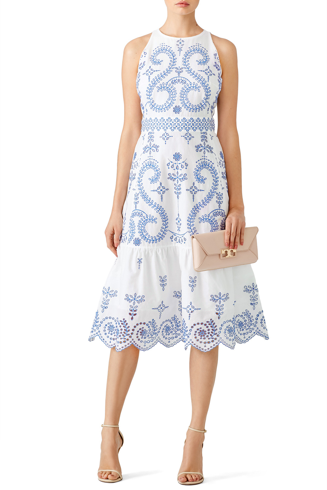 Tory Burch Floral Mariana Dress