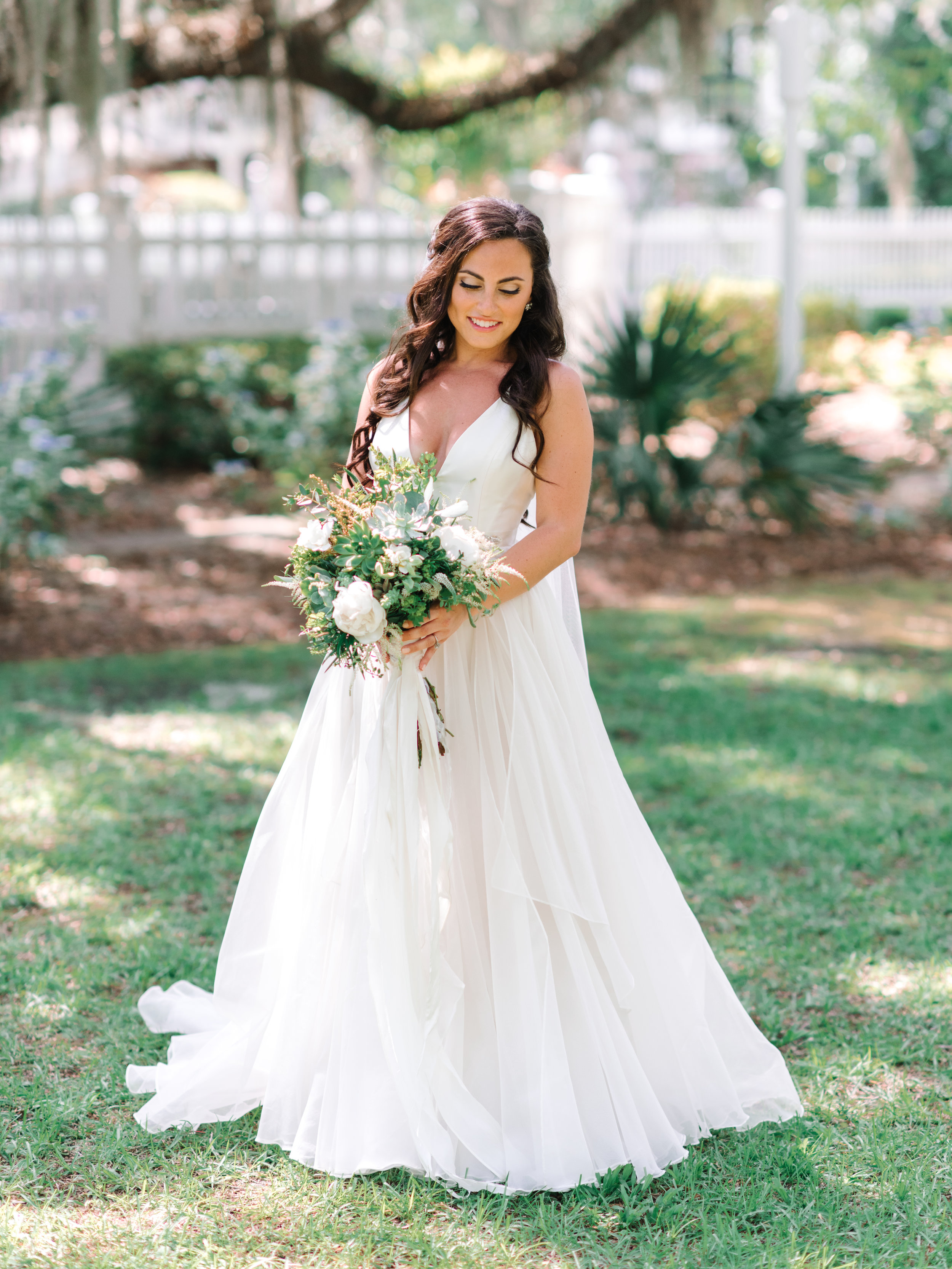 Myrtle Beach bride in Leanne Marshall gown from Lovely Bride Charleston  //  A Lowcountry Wedding Magazine & Blog