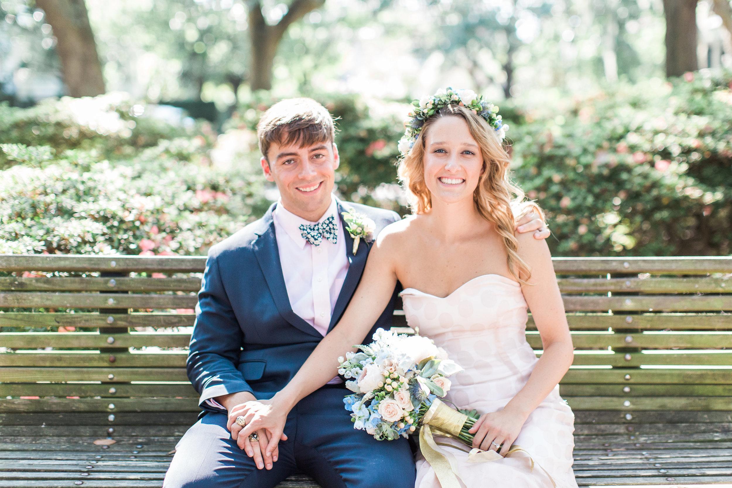 Eve & Patrick's Soho South Cafe wedding  //  Savannah wedding photos by Apt B Photography  //  A Lowcountry Wedding Magazine