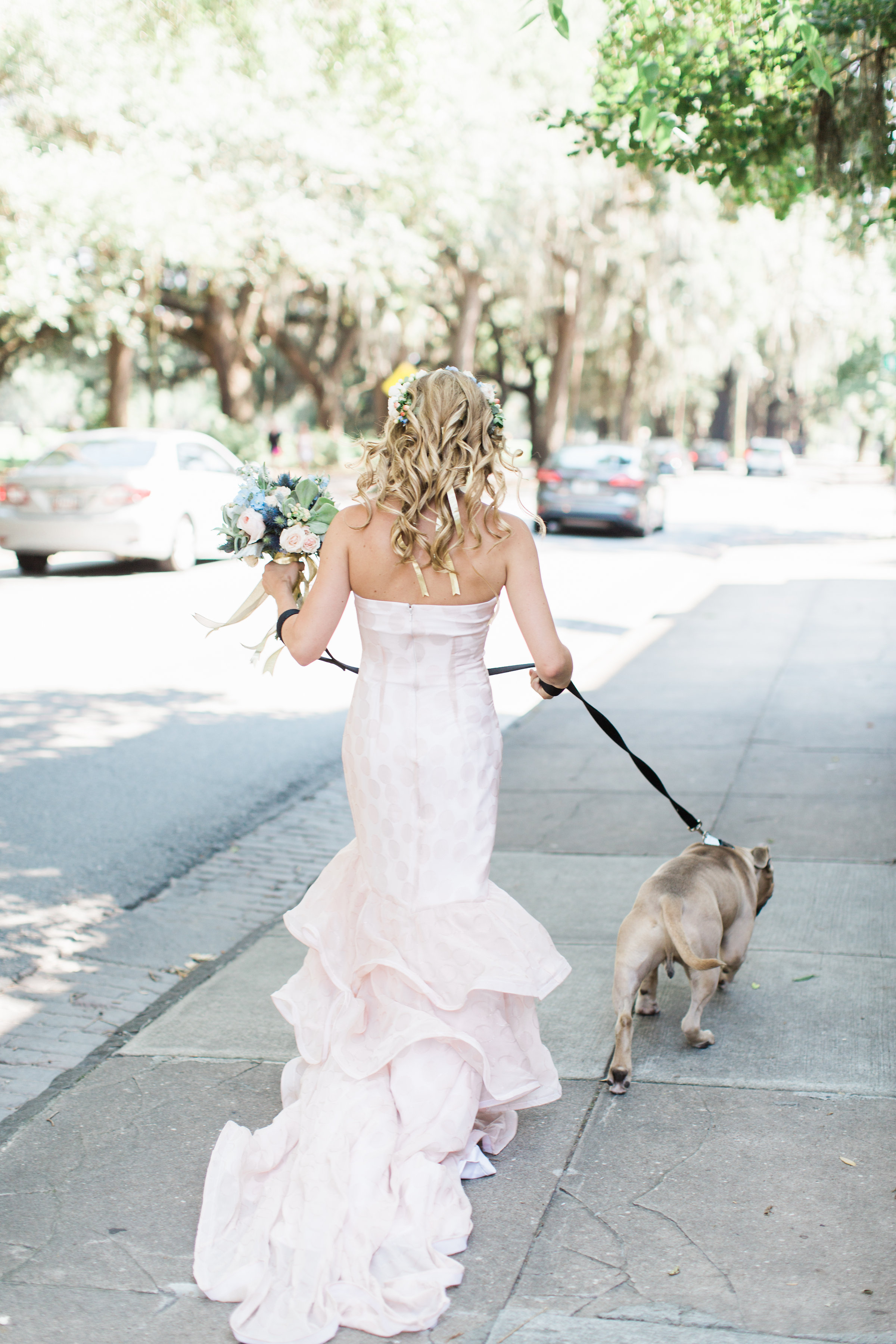 Savannah bride in a Jacklynn Bridal gown from Ivory + Beauy