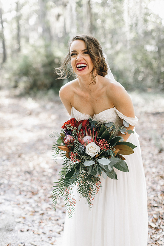 Savannah GA bride in a Sarah Seven gown from Ivory + Beau by Mackensey Alexander Photography  //  A Lowcountry Wedding Magazine