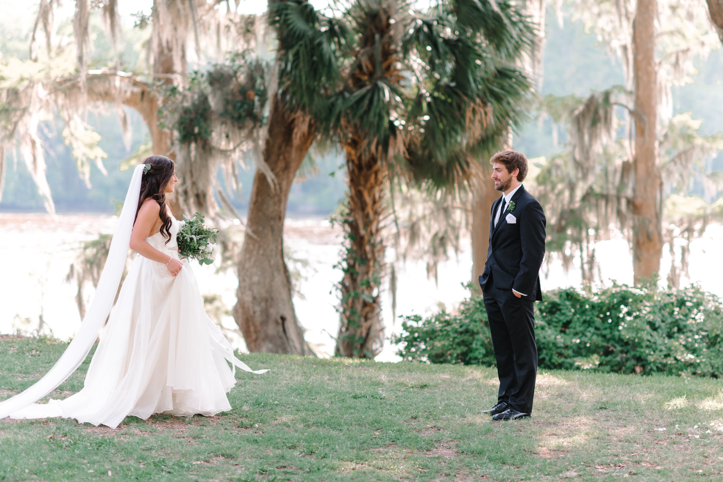 First look at Wachesaw Plantation in Murrells Inlet SC  //  Myrtle Beach wedding photos by Pasha Belman Photography
