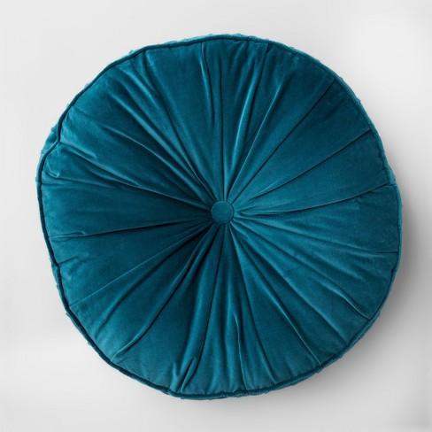 Floor Pillow Round Velvet - Opalhouse™