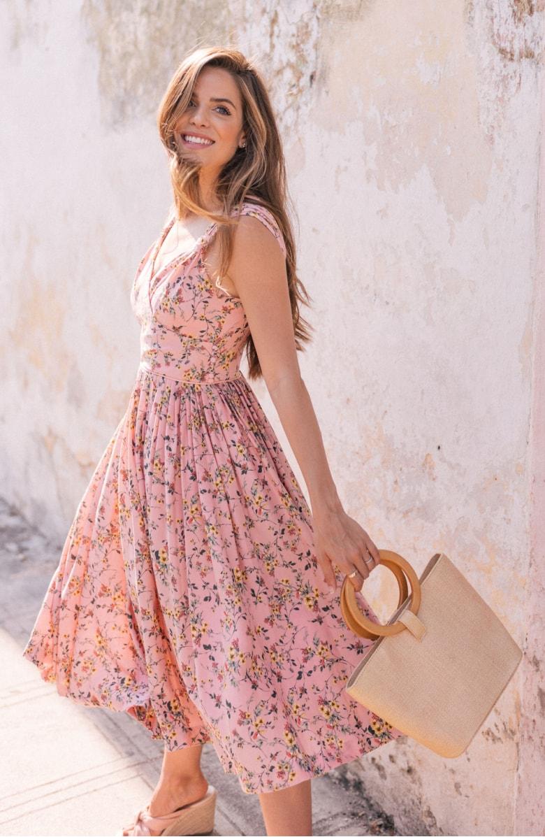 Sarah Floral Print Sundress