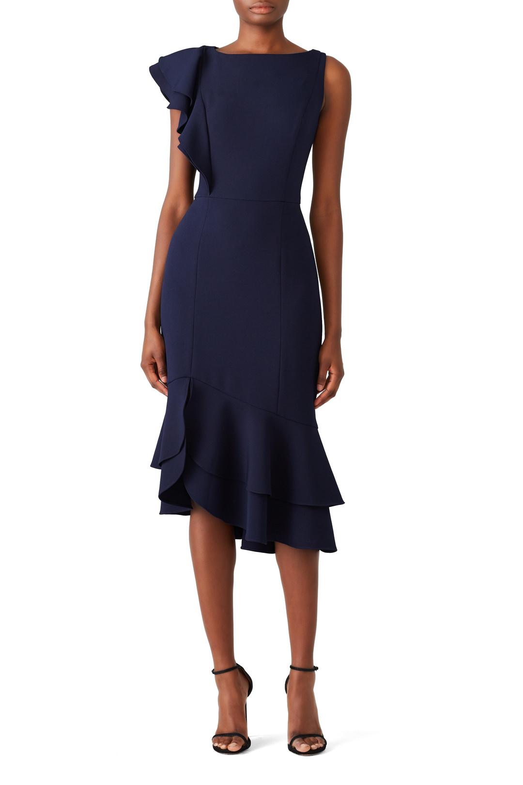Shoshanna Navy Amurra Dress - $85.00-$95.00