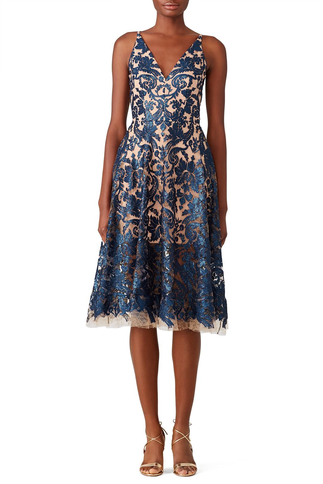 Dress the Population Blair Sequin Lace Dress - $40.00-$50.00