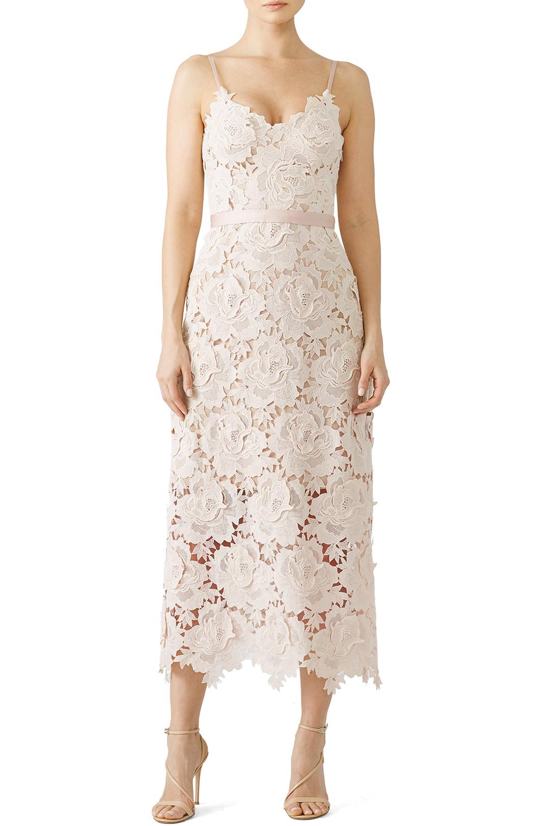 CATHERINE DEANE Rose Lace Frida Dress