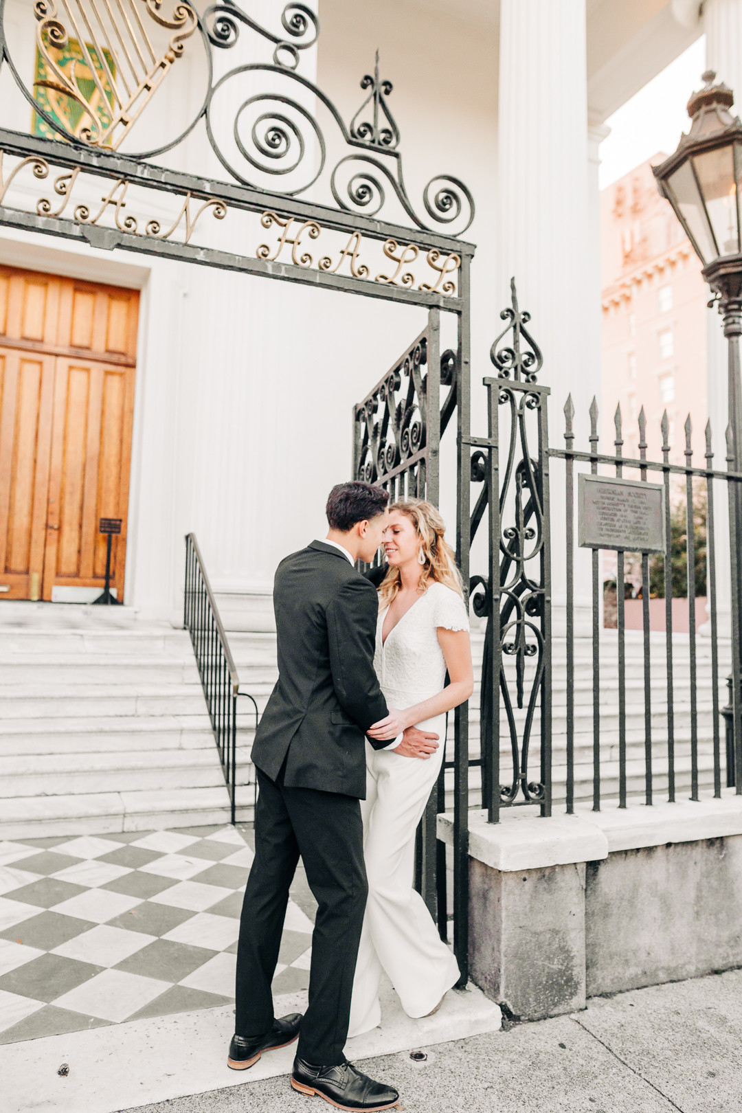 Modern Engagement in Downtown Charleston — A Lowcountry