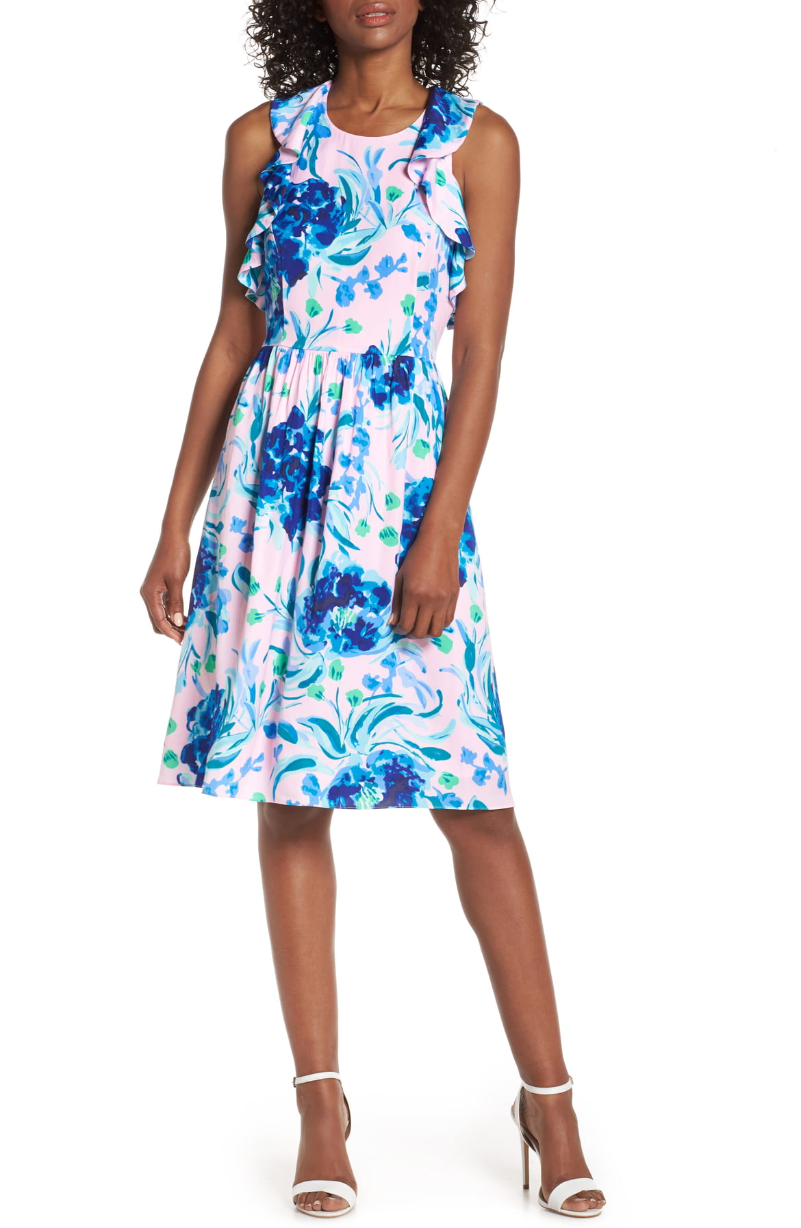 LILLY PULITZER® Rory Fit & Flare Dress