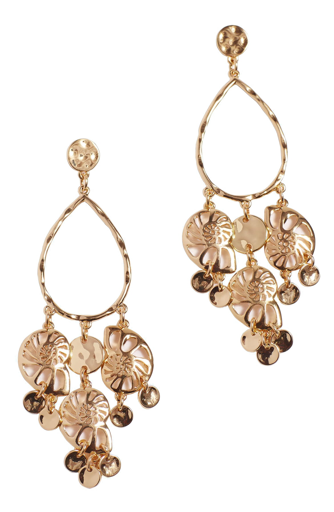 Feeling Nautilus Chandelier Earrings