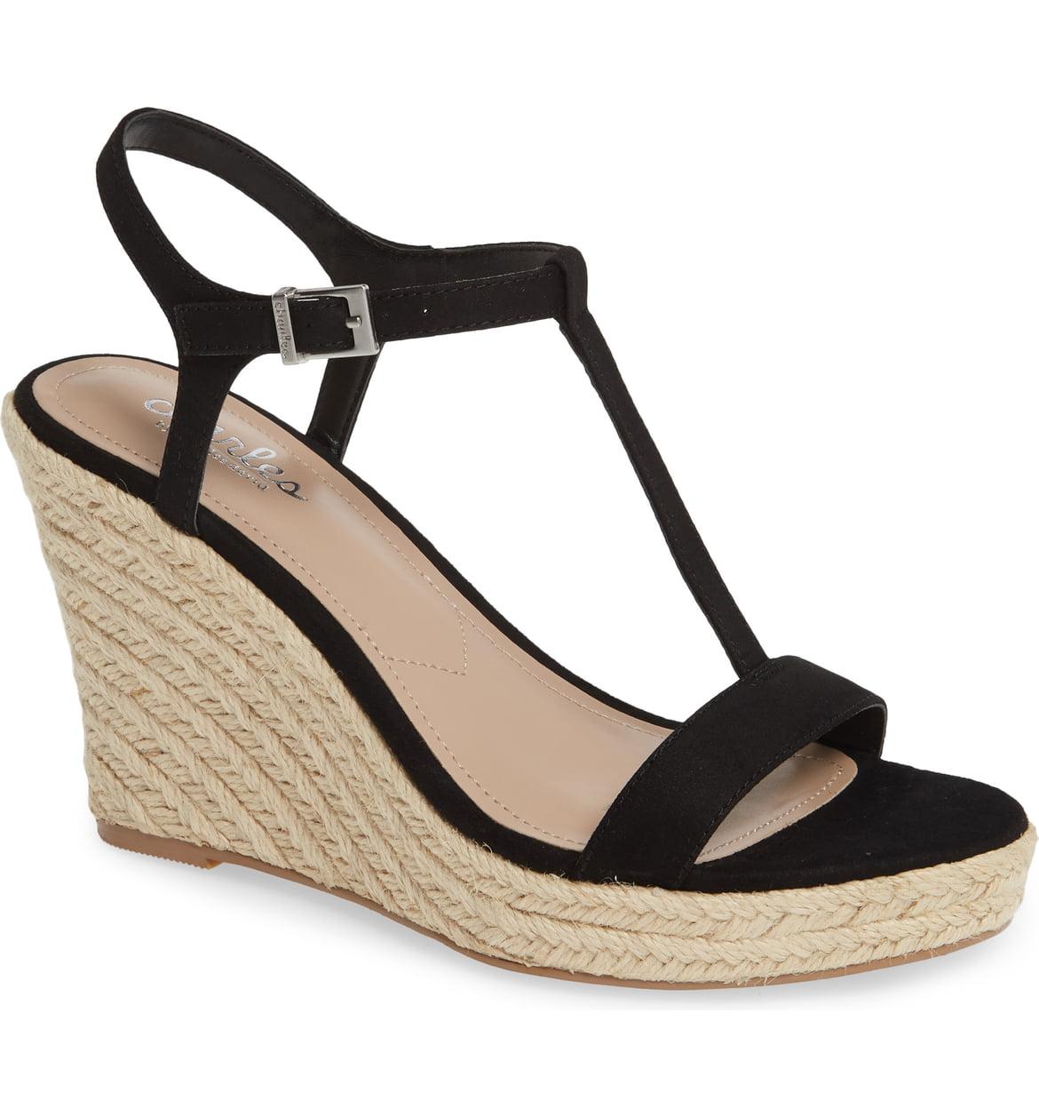 Lili T-Strap Wedge Sandal