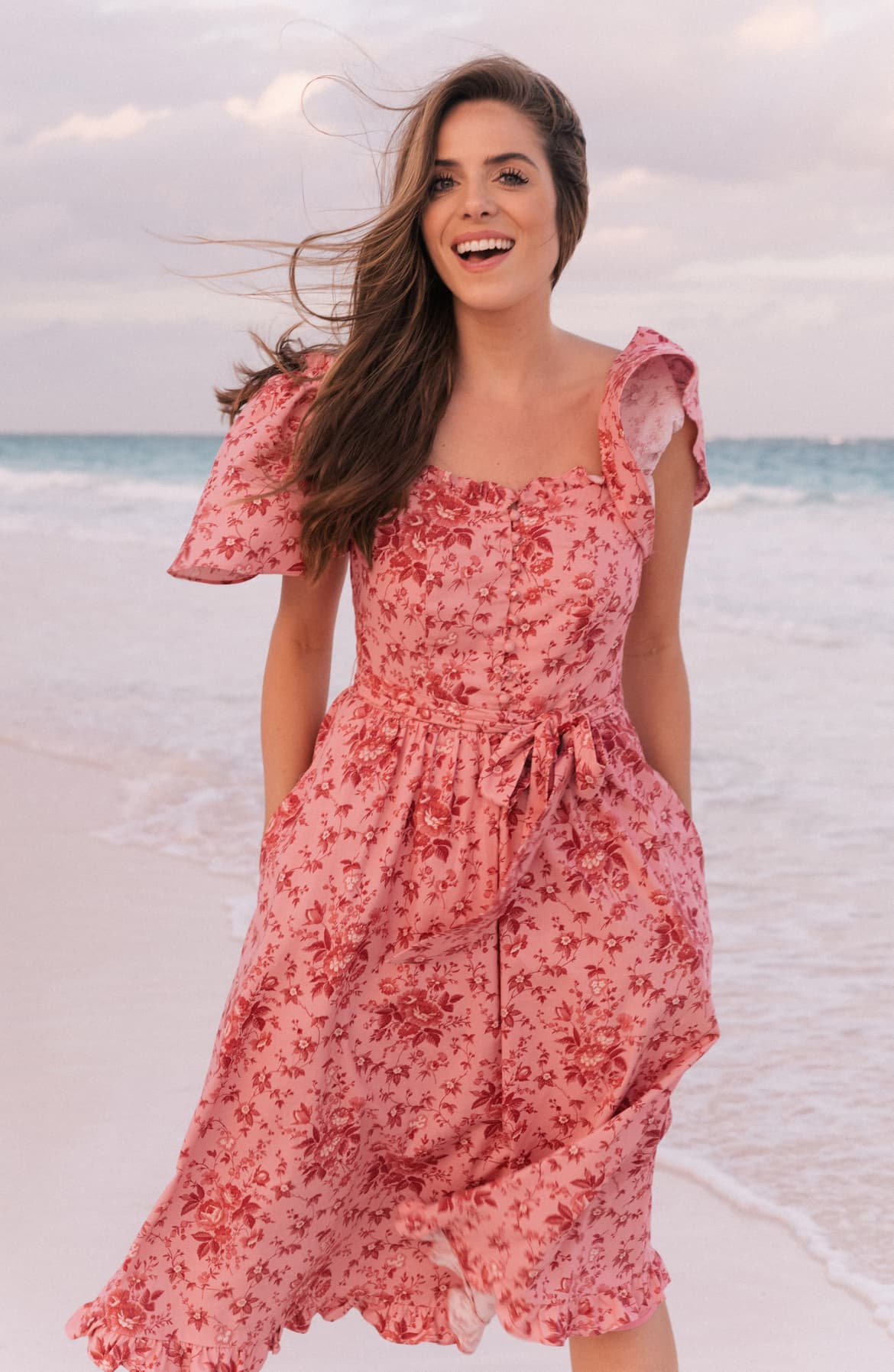 Marianna Floral Print Dress