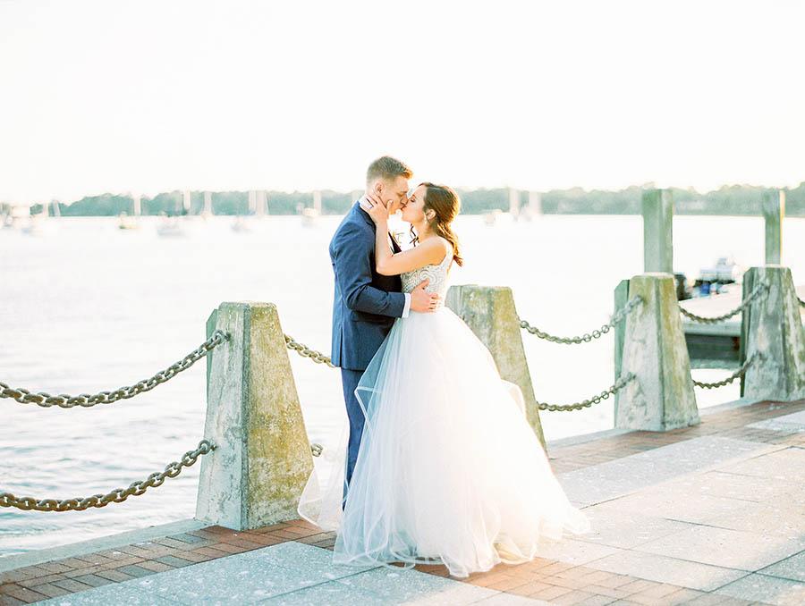 Beaufort Inn wedding by Tara Libby Photography