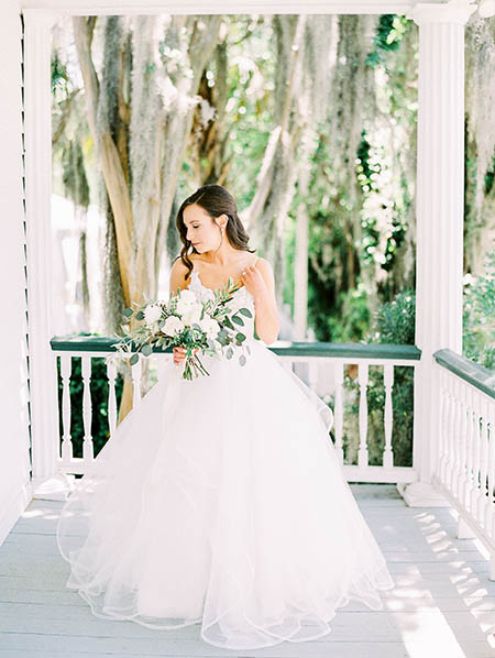 Hayley Paige wedding gown at The Beaufort Inn