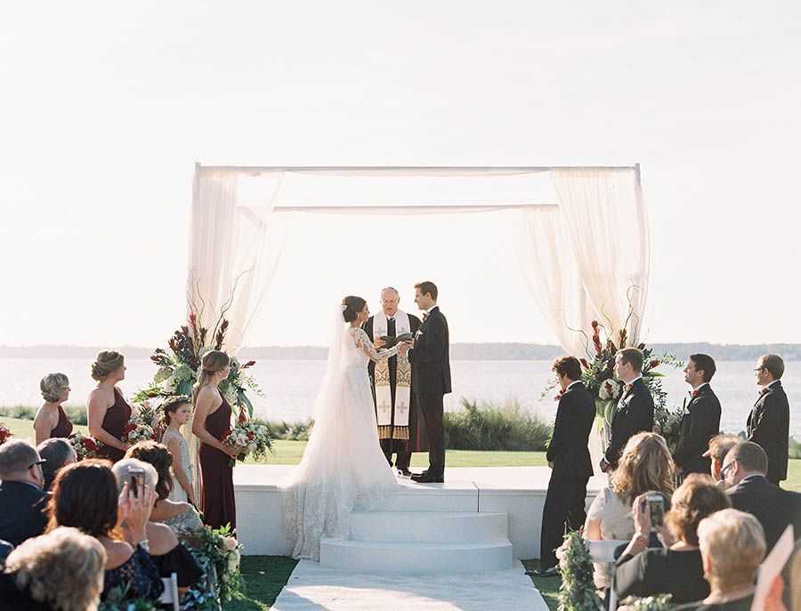 Kate & Michael's Sea Pines wedding