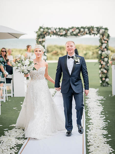 Mandi & Brent's Kiawah Island Wedding at The Sanctuary Hotel  l  Charleston SC Wedding Venue