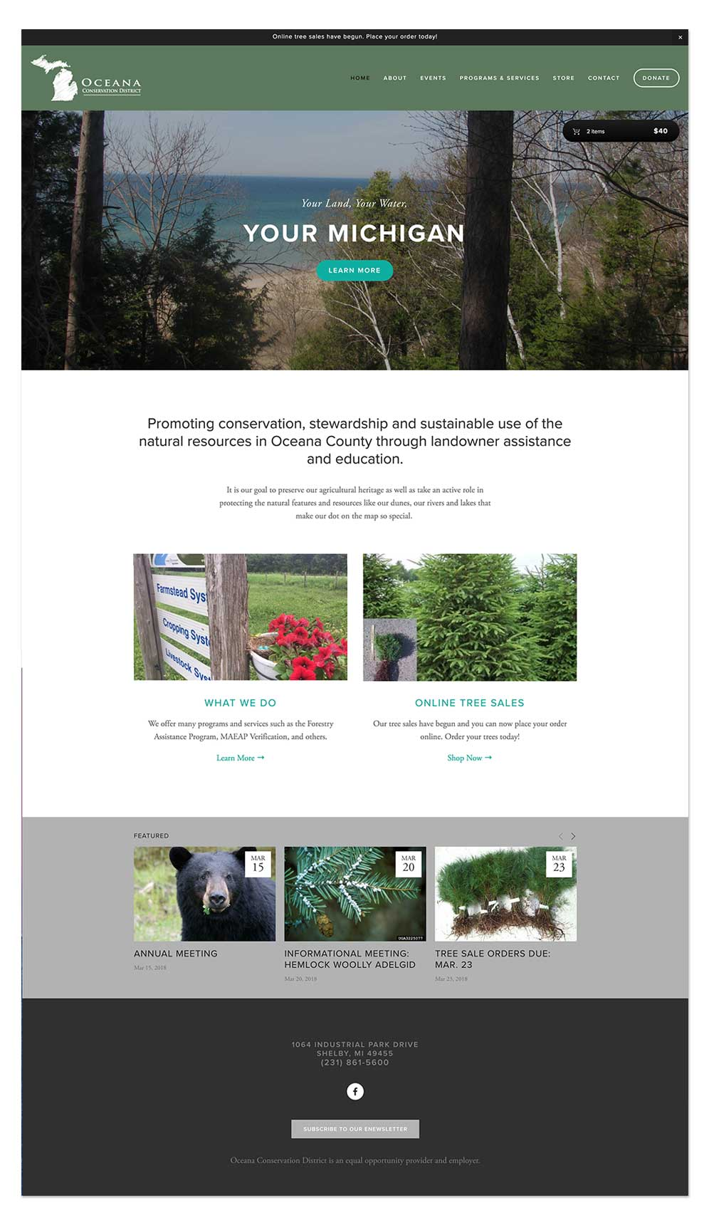 Oceana Conservation District Homepage