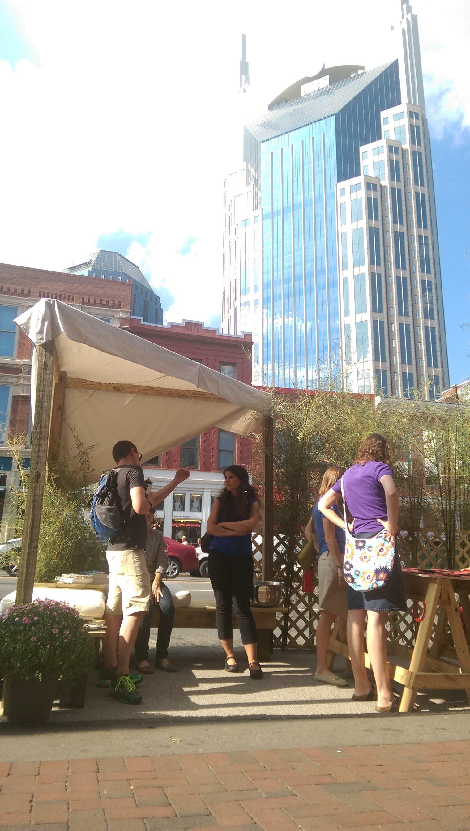RPM's Parking Space at Nashville's 2014 Park(ing) Day