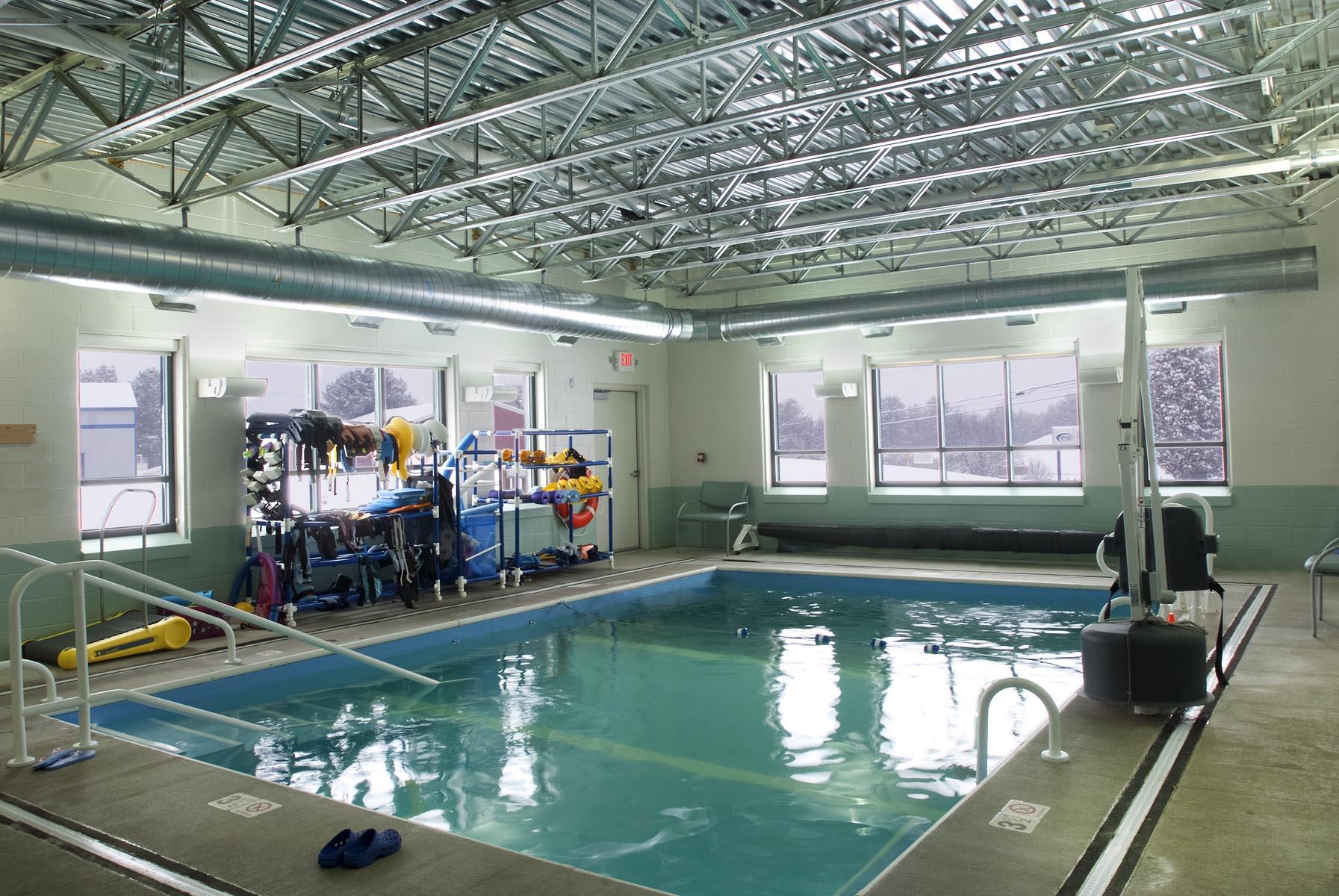Central Vermont Medical Center Aquatic Rehab.