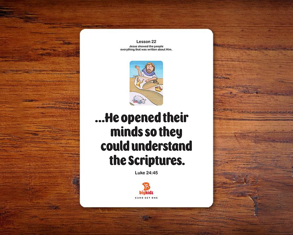 Beautiful flashcards make verse memorization fun