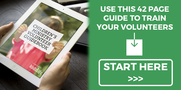 This free 42-page PDF helps train volunteers in preparing for small groups, presenting lessons in engaging ways, leading children through prayer with the Holy Spirit, and just about every logistical issue under the sun.