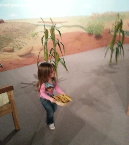Crown Family Play Lab Corn Stalks