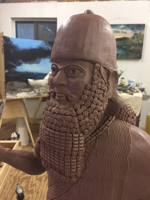 mesopotamiam idol process aaron delehanty.JPG