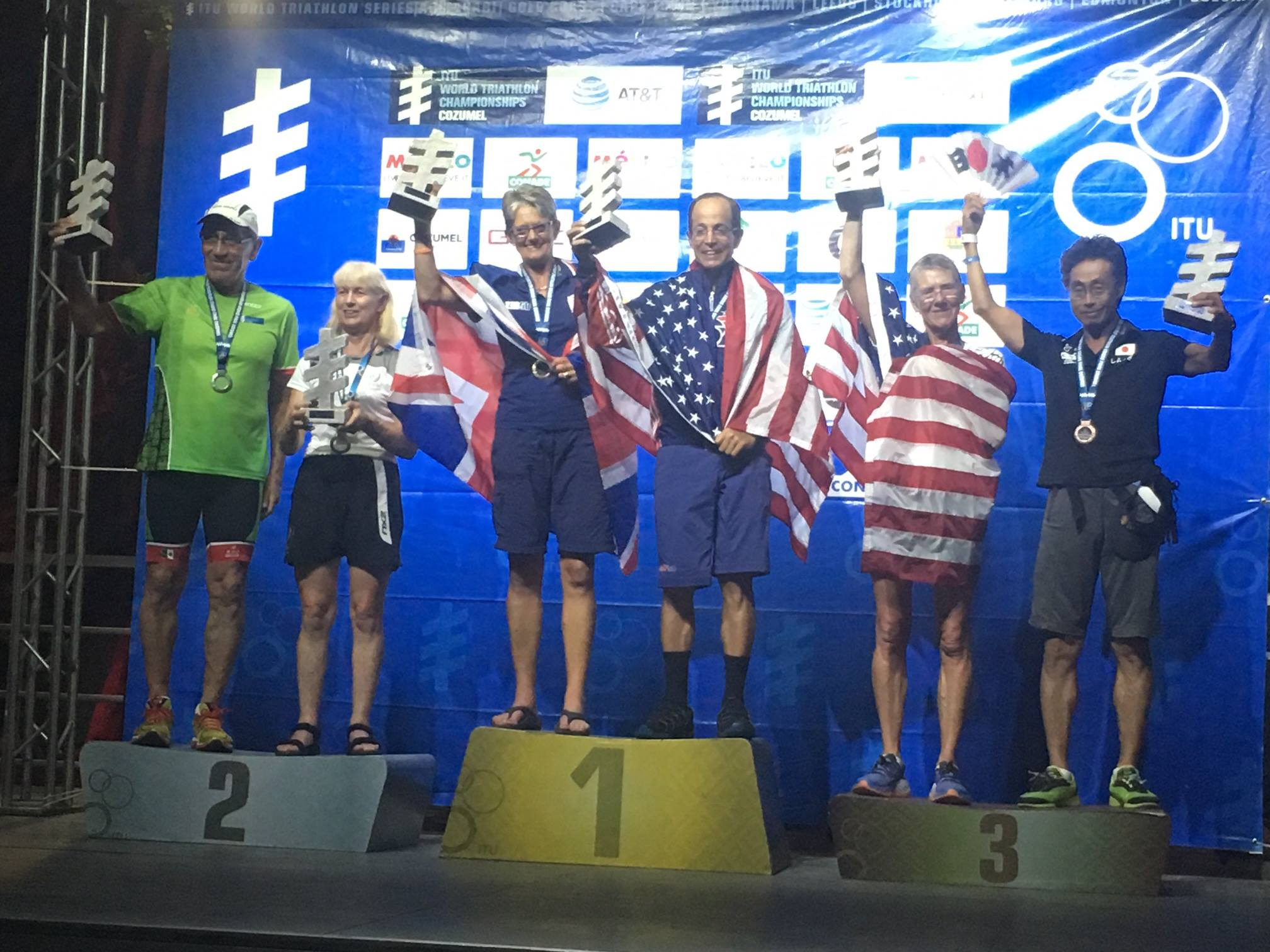 Gold for Mike Wien