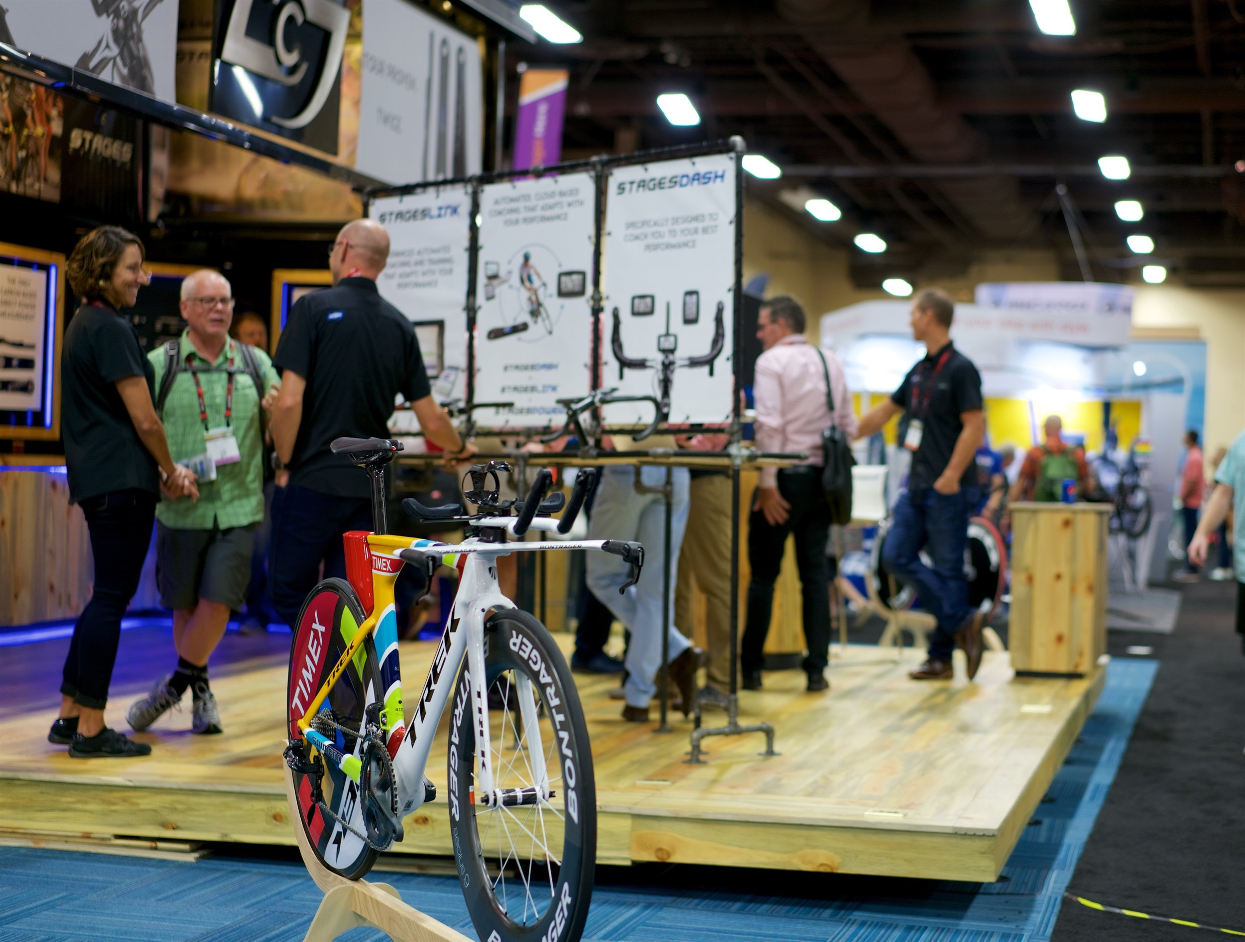 Stages gave Trek and Timex a little love at the show