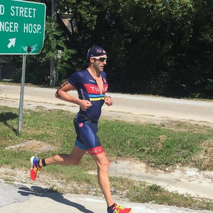 Matt Davidson on the run