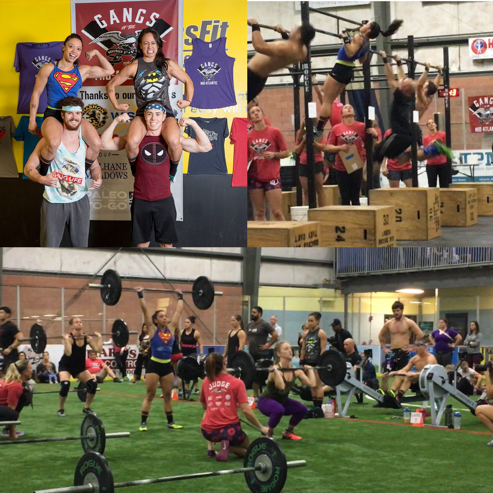 DBCF: KC w/ teammates brothers Connor & Twitch McMahon, & April-Gangs 2016