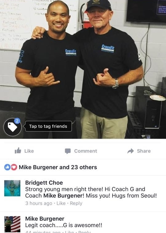 Facebook-Crossfit Weightlifting course, August 2016