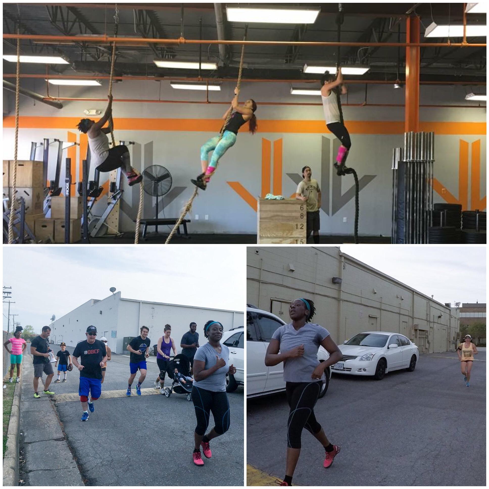 Rope Climbs & Running!
