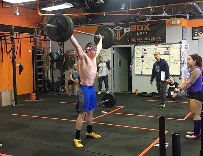 CrossFit Open 17.3, 185# Snatch