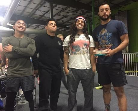 Team Grit 2016, Team Good Hair: Rah, Mike, Me & Daniel