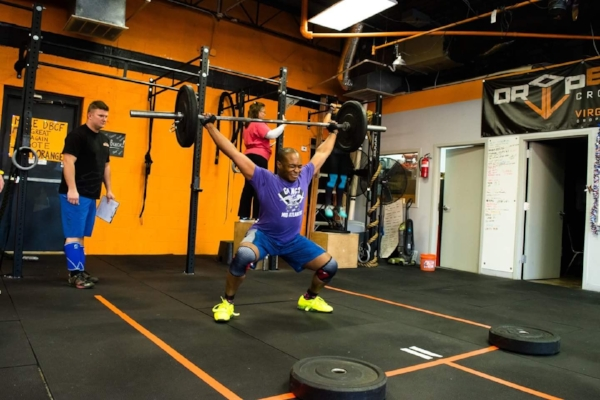 Crossfit open workout 7.3