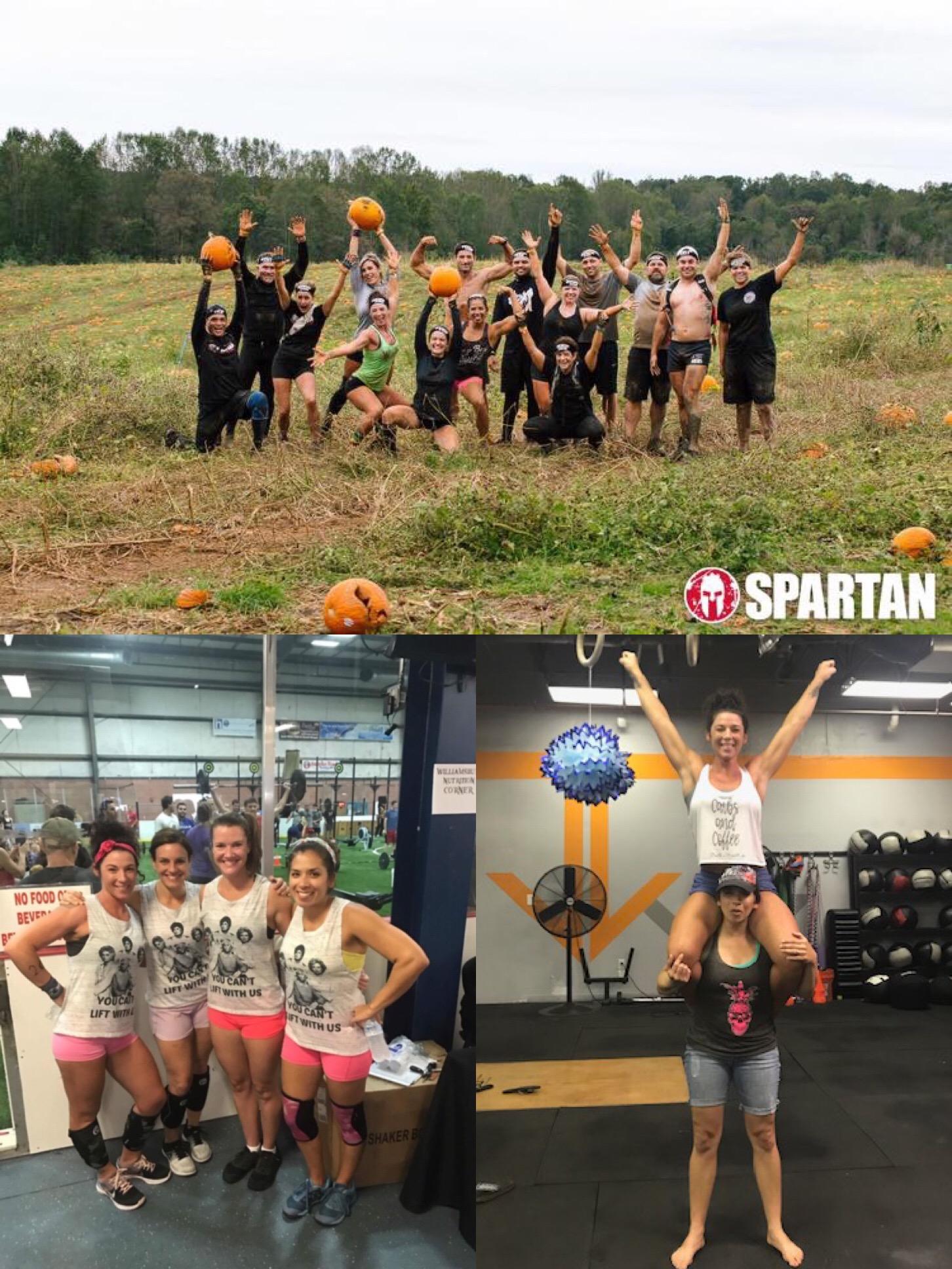 Spartan super 2018,, w/ DBCF co-owner and frIEND, ANNA CHEVALIER, Gangs of the mid-atlantic 2017 (kelly, stephanie, anna)