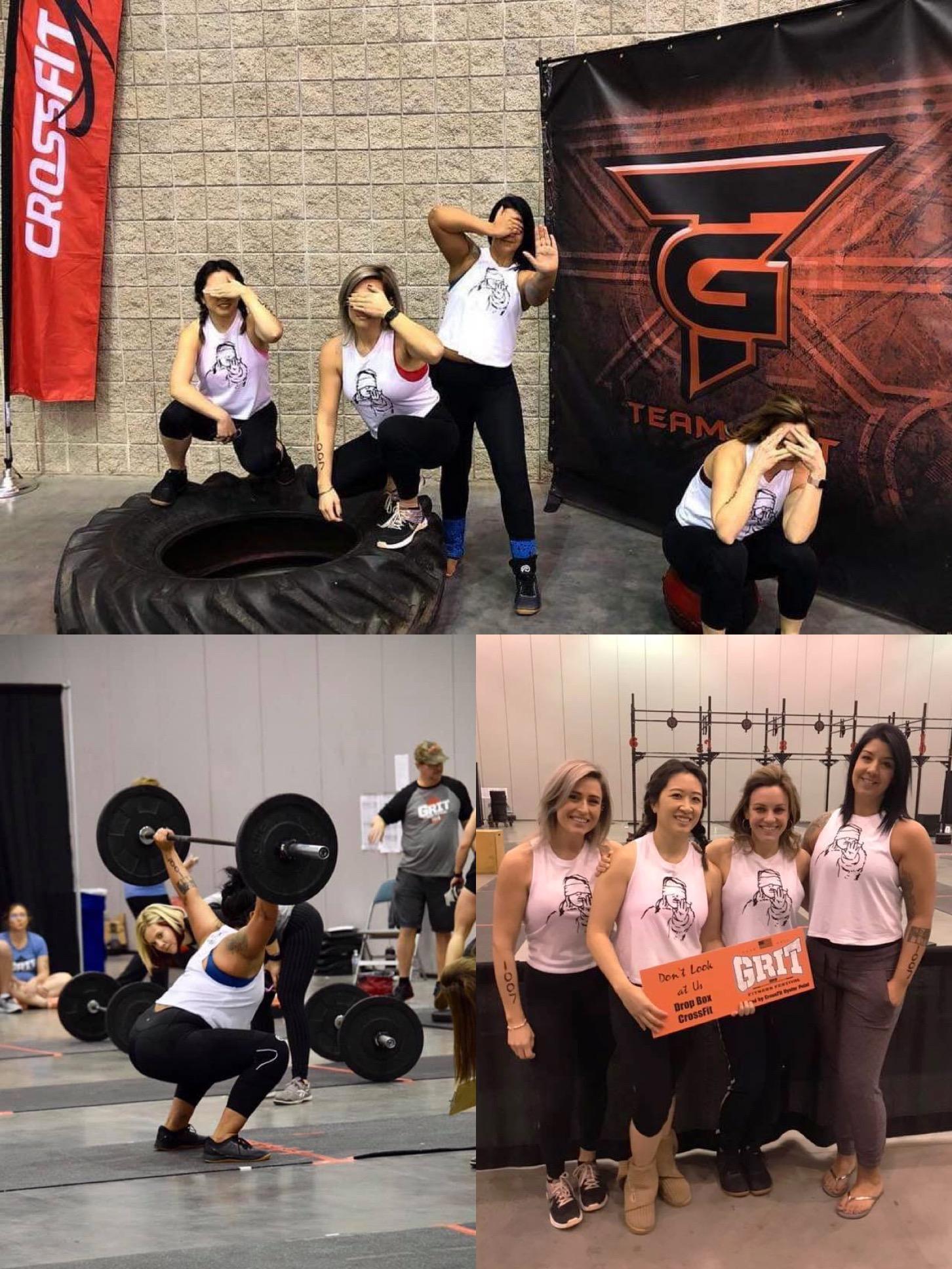 Team Grit '19, bottom right pic: w/ Lauren, Cat, Kelly