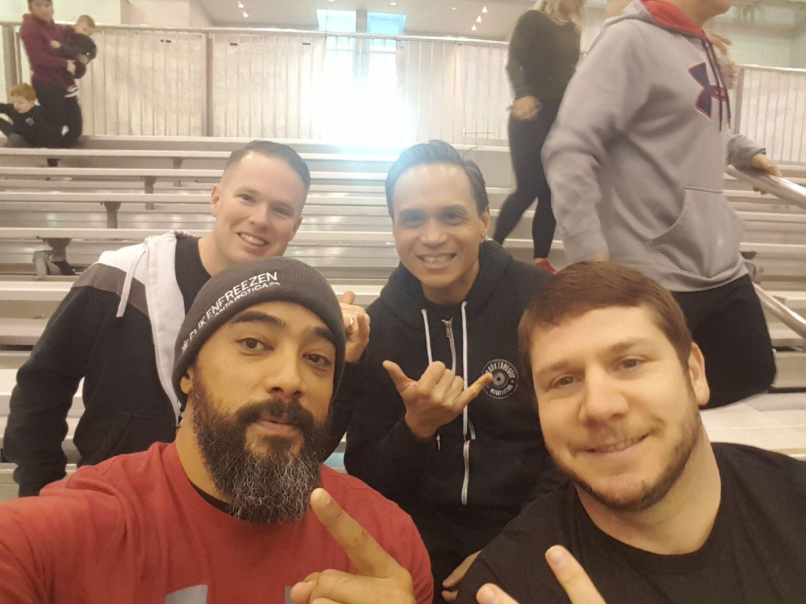 Team Grit '19: 2 Vicious 2 Delicious- Dave, JC, James, Gil