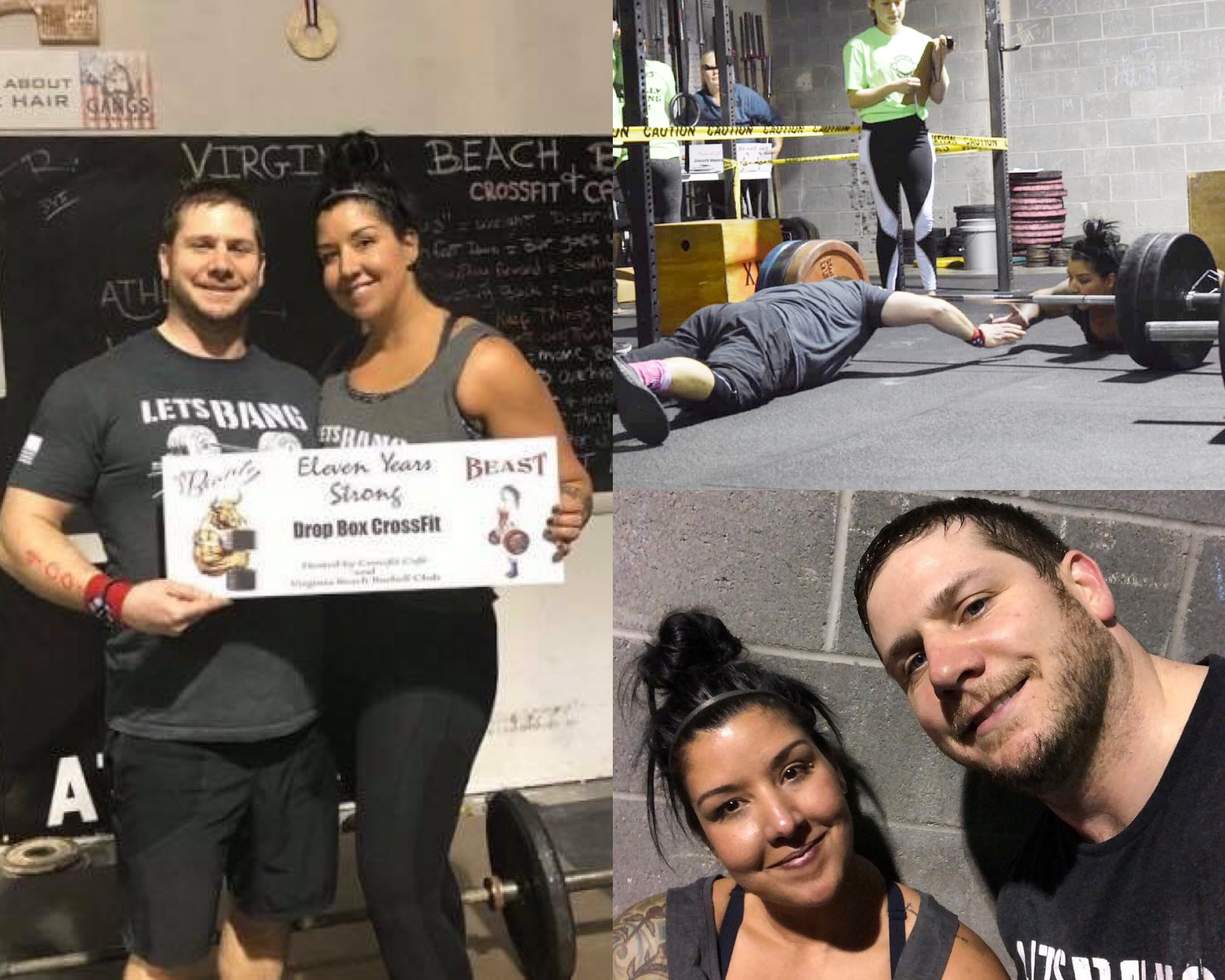 Marie & Dave competed together as a couple for the Beauty & the Beast comp '19