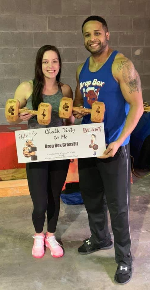 BeaUty and Beast Comp, 1st Scaled DiviSion…. with partner Shana!